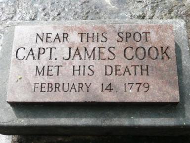 Captain Cook Monument at Kealakekua Bay-February 21, 2015–Must RSVP!